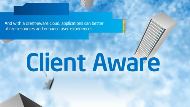 Benefits of a Client-Aware Cloud