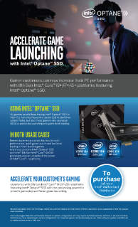 Accelerate Gaming with Intel® Optane™ SSDs