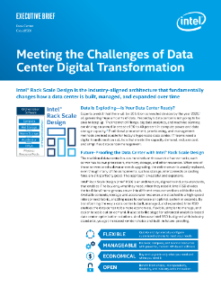Meeting the Challenges of Data Center Digital Transformation Executive Brief