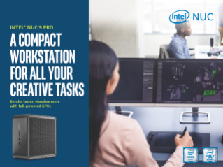 Intel® NUC 9 Pro Kit Product Brief