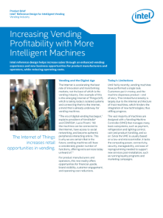 Intelligent Vending Machines for Increasing Profitability: Brief