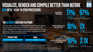 Intel® Xeon® W-2200 Processor Sales Brief