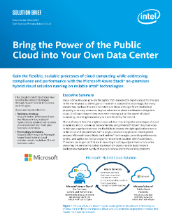 Public Cloud Power in Your Data Center