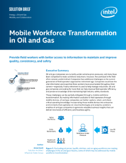 A Mobile Workforce Transformation in Oil and Gas