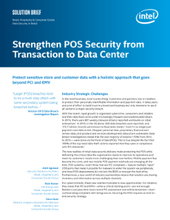 POS Security Strategy Protects Sensitive Store and Customer Data