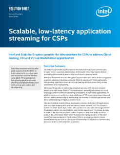Low-Latency Streaming Cloud Service Infrastructure Solution