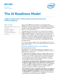 The AI Readiness Model